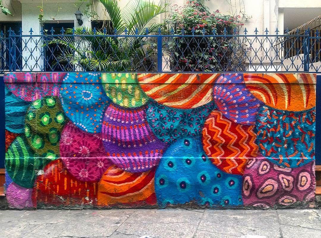 #StreetArtRio  Mural na esquina da rua Vinícius de Moraes com a rua Nascimento Silva, em Ipanema, 6/7.  Artista no detalhe: @brfbc (BR)  Tirada em 13/01/2016