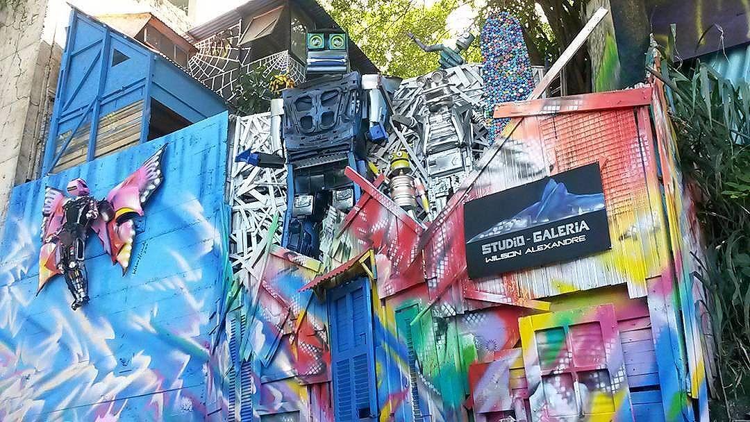 Studio-Galeria Wilson Alexandre.  #streetartrio
