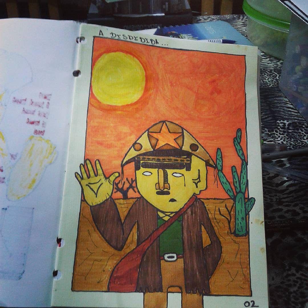 A Despedida.  Esse eu fiz em homenagem  ao meu avô  não só ele mas também  os nordestinos  que sairam de  suas terras em busca de um emprego ou uma esperança de uma  vida melhor aqui no sudeste ! #calvinwolf  #wolf  #vandal  #graffiti  #instagraffiti  #streetartrio  #graffitirj  #sketch  #ilustração  #persona