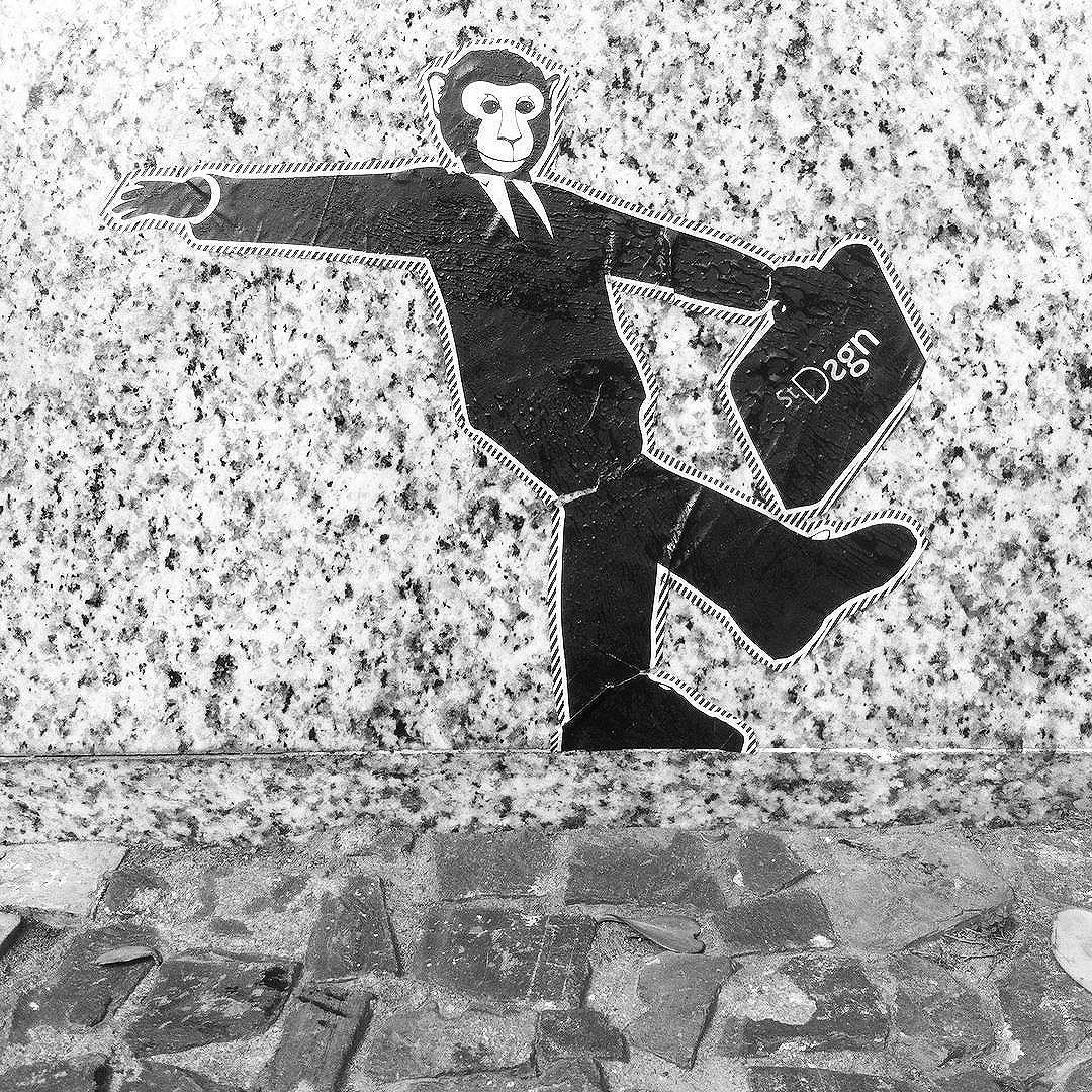 Monkey City Series. By StDsgn.  Rio de Janeiro. June 2016. Street Art Rio WebSite : stdsgn.fr  #StDsgn #StreetDesign #streetartist #rio #riodejaneiro #streetartrio #saopaulo #brasil #streetartistry #streetart #vandal #collage #lambelambe #graphic #design #streetartlondon #streetartparis #streetarteverywhere