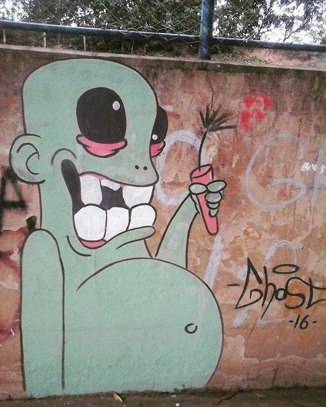 Lá vai bombaaaa #graffitti #streetartrio #colorginarteurbana #artederuarj #arteurbanabr #partoré #graffitiartist