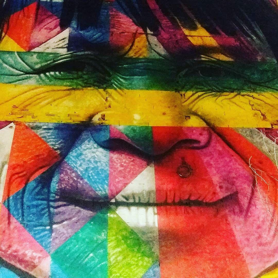 Mural Etnias #kobra #streetartrio #streetart #grafitti #modicesinspira #riodosmeusolhos #artederuabrasil