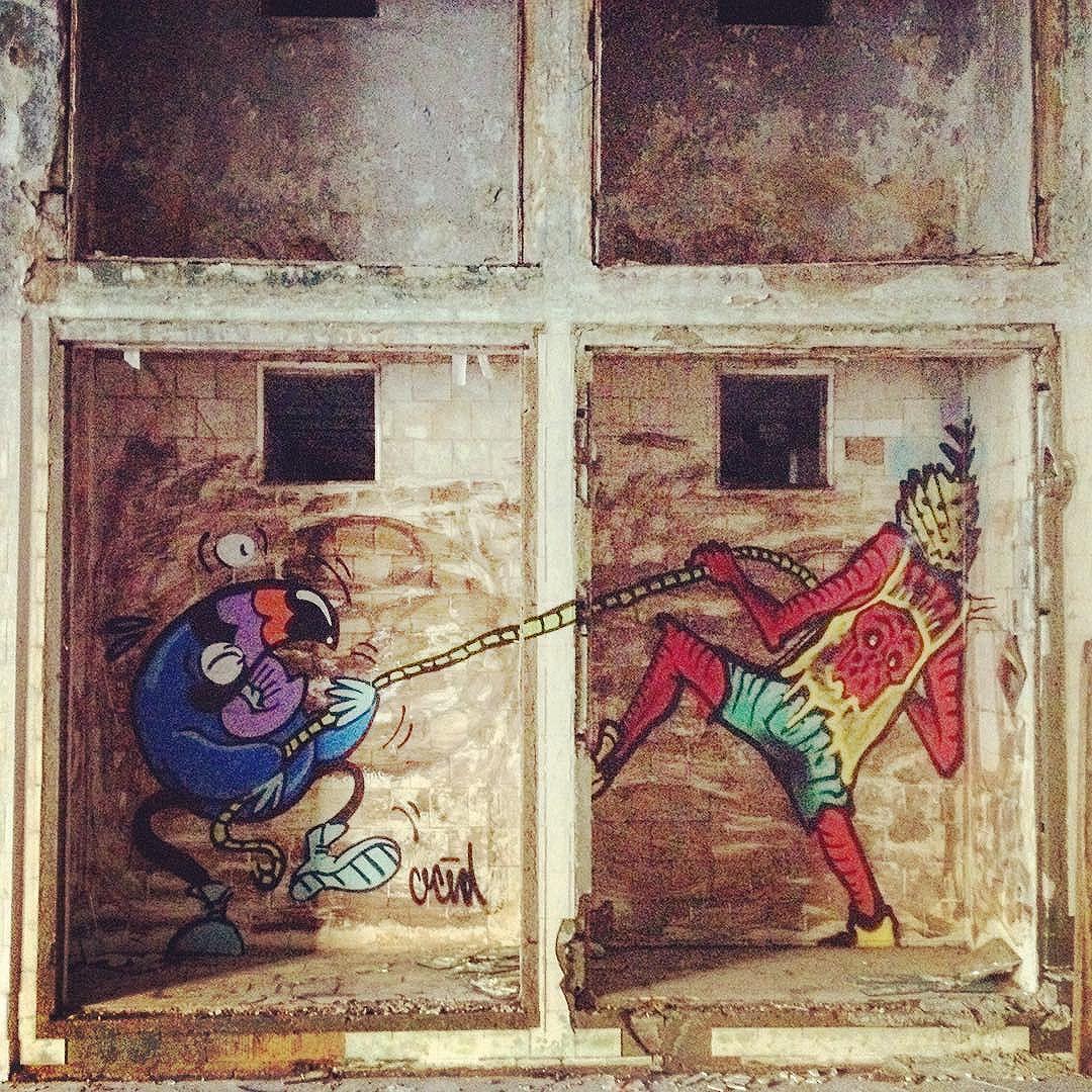 Puxa daqui puxa dali  OCÉD X TIÃO #characters #graffiti #streetartrio #graffitiporn #oced #streetartrio #tagsandthrows #bomb #streetart #graffiti #characters #urbanart #artederua #illustration #rjvandal