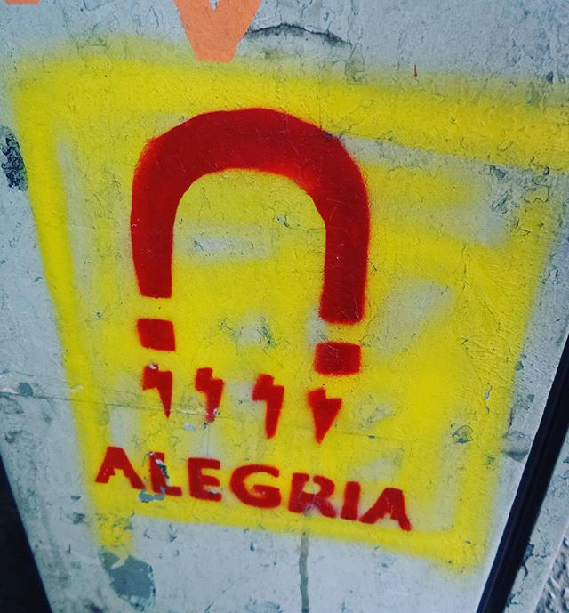#alegria #goodvibesonly #positivevibrations #recarregarasenergias #streetartrio #arteurbana #urbanstyle #urbanrio #streetartist #streetstyle #streetphotography #streetphotographers #ofantasticomundodografite