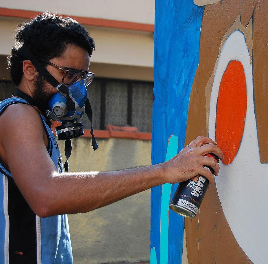 Amor, pessimismo, determinação, aceitação, satisfação. Tudo isso fazem parte do necessário processo. Foto: @dafnemrodrigues  #processo #graffitirj #graffitirio #streetart #streetartrio #arteurbana #art #rua #artederua #graffiti