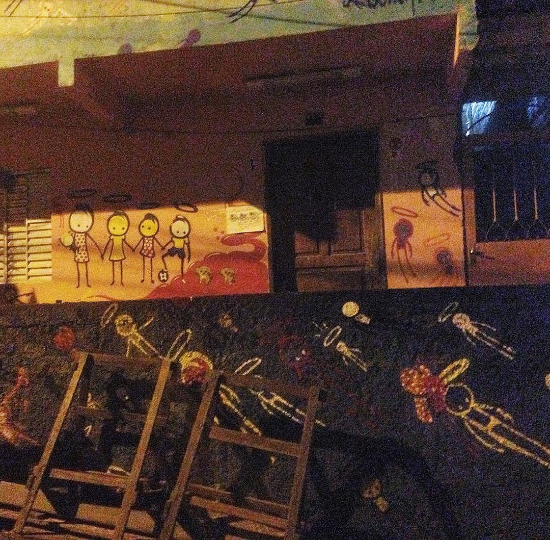 Angels - art done by @warkrocinha #graffiti #graffporn #streetart #streetartrio #streetartglobe #urbanart #spraydaily #muralsdaily #catete #riodejaneiro #brazil