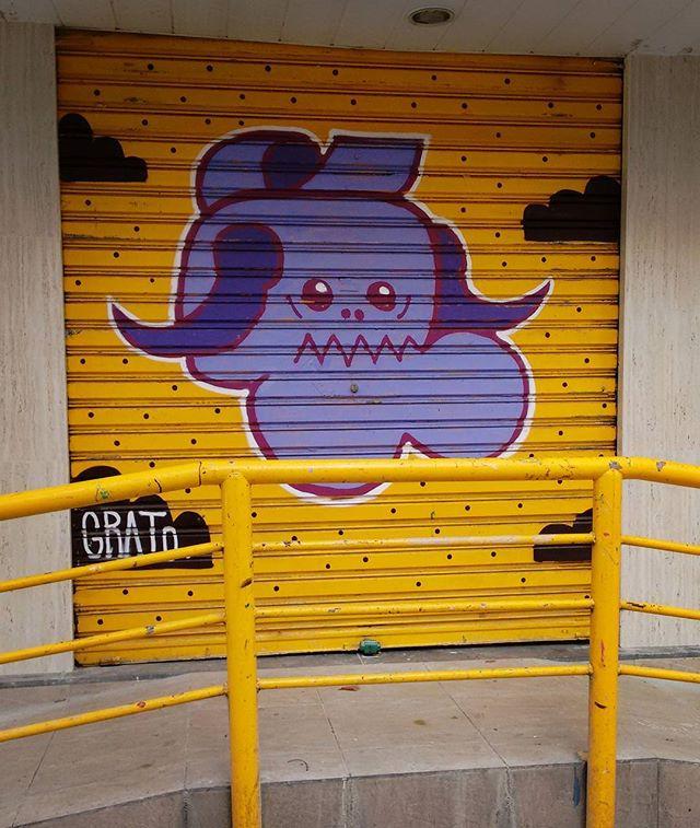 #grafite #graffiti #graffiti_clicks #graffitiart #globalstreetart #elgraffiti #dsb_graff #dispatch_graffiti #ig_graffiti #instagrafite #instagraffiti #lostmurals #murals #nexus_streetart #nexus_nation #publicart #streetartrio #streetart #streetarteverywhere #transfer_visions #tv_streetart_ #urbanart #brazil #riodejaneiro