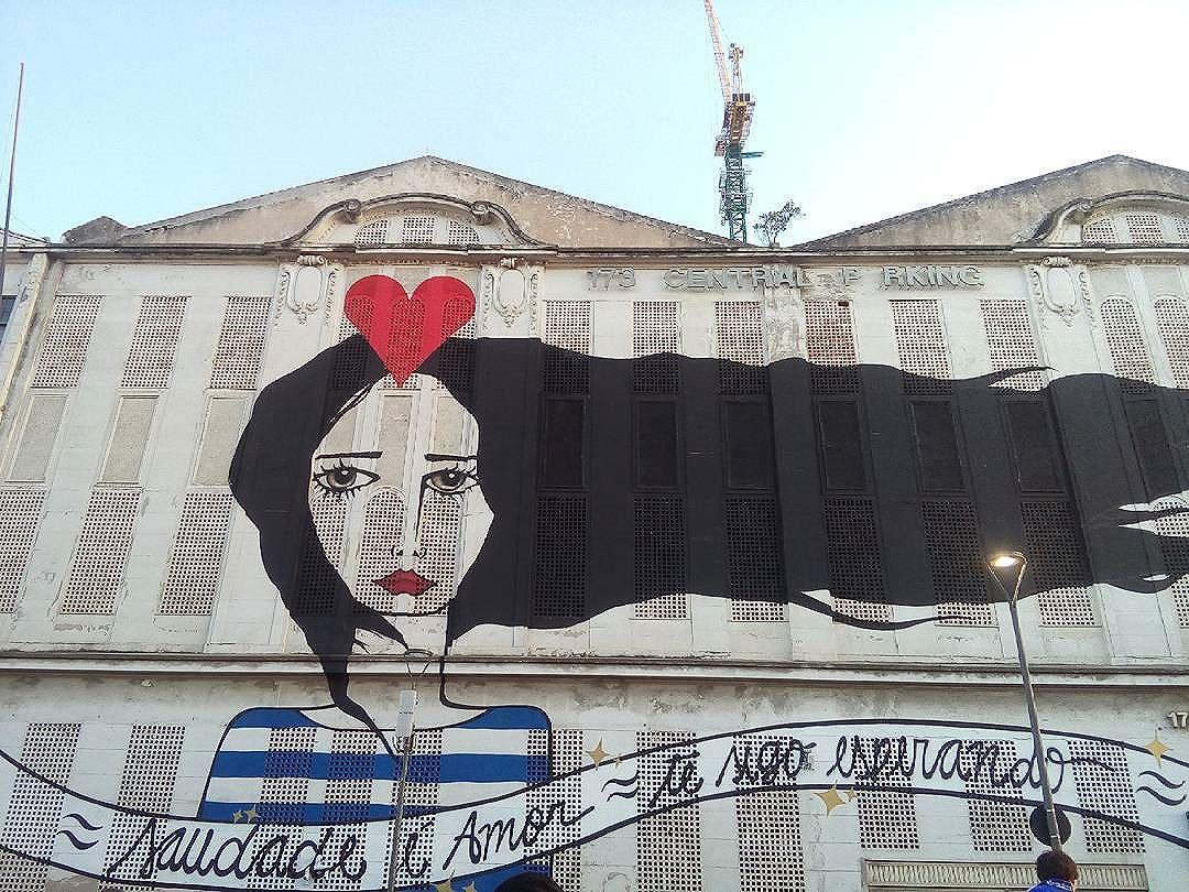 Lindeza do dia #errejota #streetart #streetartrio #riodejaneiro #rj #cidademaravilhosa #cidadeolimpica #rio2016