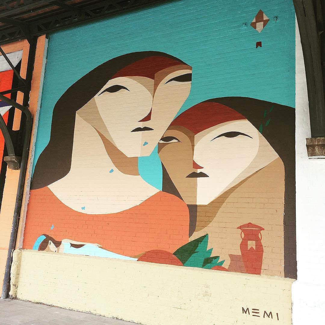 Mais um belo mural para o meu álbum! #Memi #GrandeSonho #StreetArt #StreetArtRio #PortoMaravilha #ArteDeRua #MuseuACéuAberto #BoulevardOlímpico #ZonaPortuária #Rio2016 #InstaGrafite #InstaGraffiti