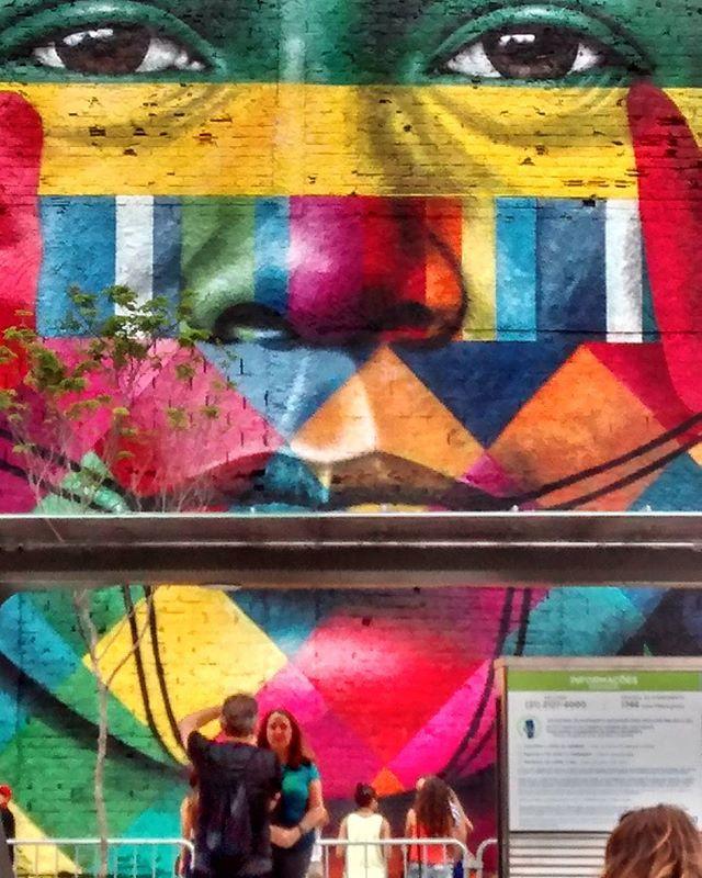 Maravilhoso!!! @kobra #streetartrio