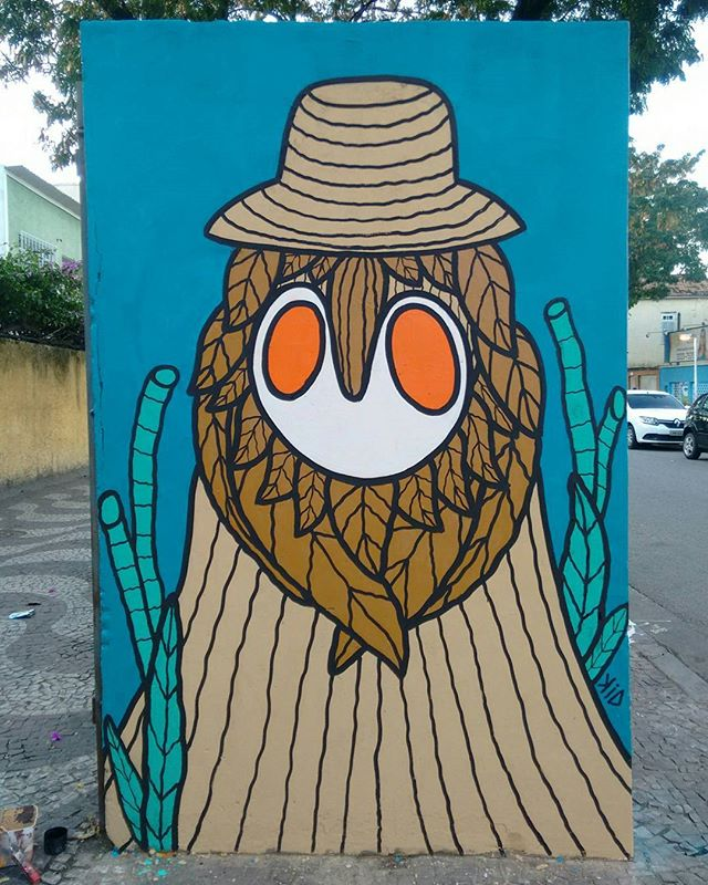 Na plantação, em busca do seu pão, o suor que pinga no facão ; o bóia fria. Obrigado @dafnemrodrigues  #zonaosterj #bangu #graffitirj #graffiti #graffitirio #streetartrio #streetart #arteurbana #art #artistaurbano #brasil #murals #mural #muralismo