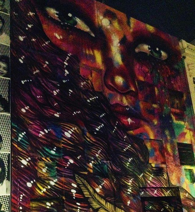 Nice | Deusa da Vitória | Panmella Castro #StreetArtRio