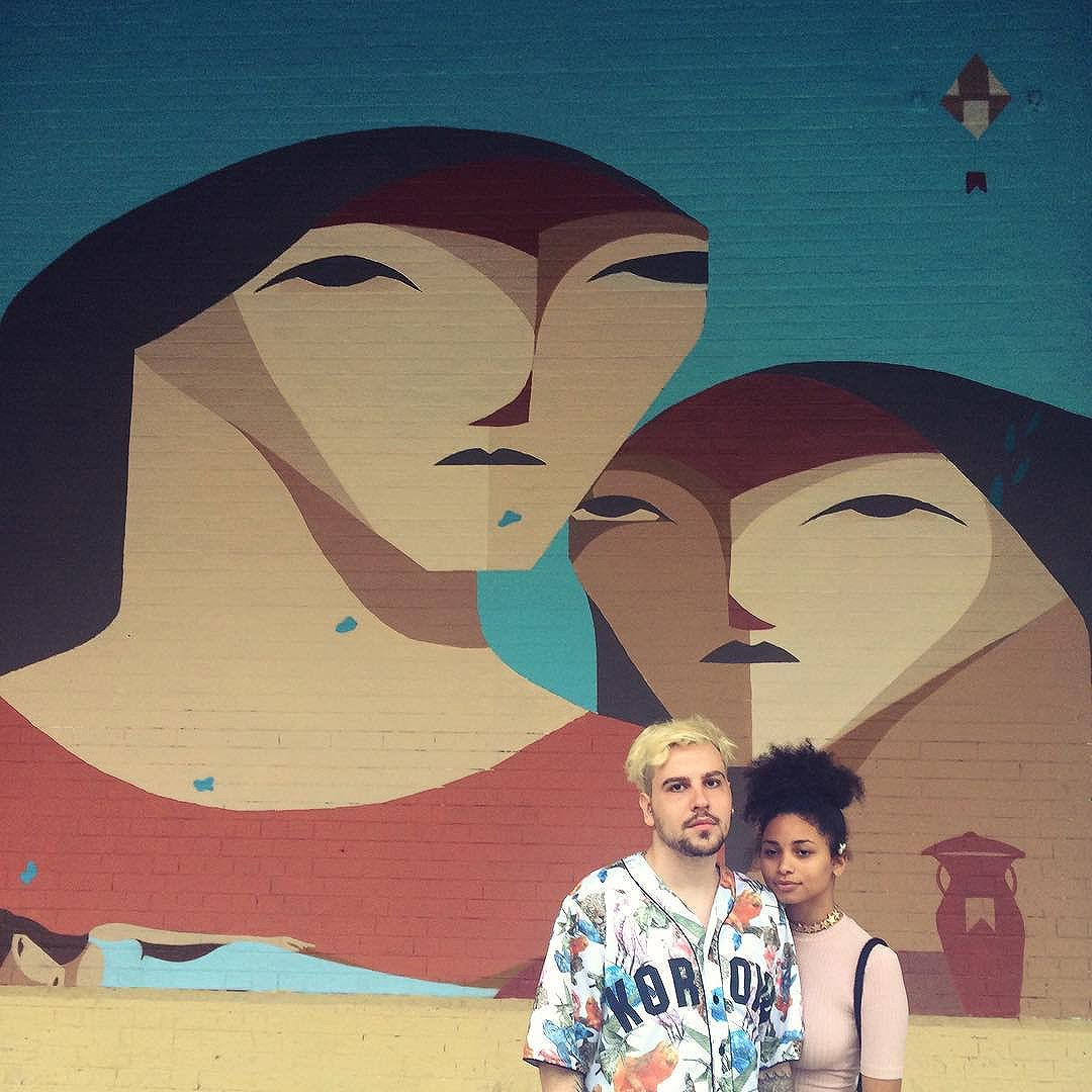 Quando a arte imita a vida #art #urbanart #streetart #streetartrio #arteurbanario #rio2016 #olympics #casalbrabo #casalstyle #casalclose