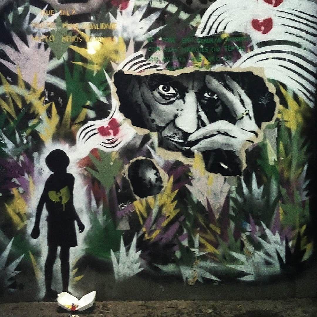 Rio de Janeiro. 29/08/2016 | vandalogy #riodejaneiro #streetartrio #streetart #ipanema #streetartbrazil #brasil #brazil #stencil #stencilart #wutangclan