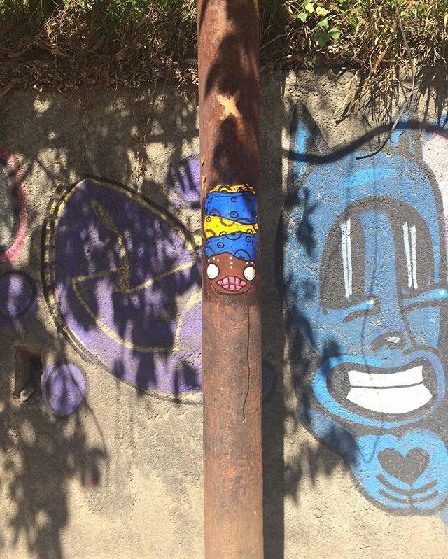 Santa  #streetartrio #streetart #urbanart #poster #wheatpaste #lambe