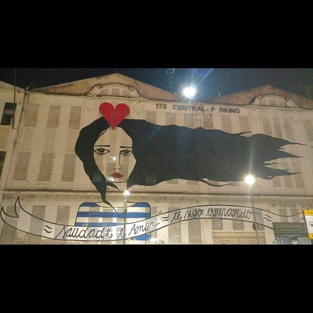 ~ saudade é amor ~ Te sigo esperando ~ . . . #clichesolimpicos #cliche #boulevardolimpico #streetartrio #streetart