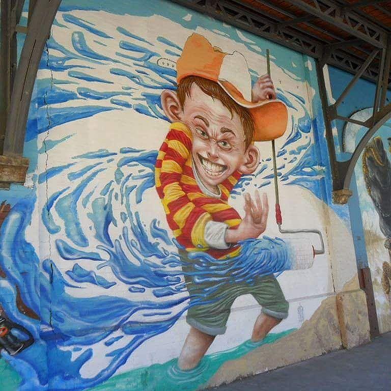 #streetartrio #cidademaravilhosa  Boulevard Olímpico