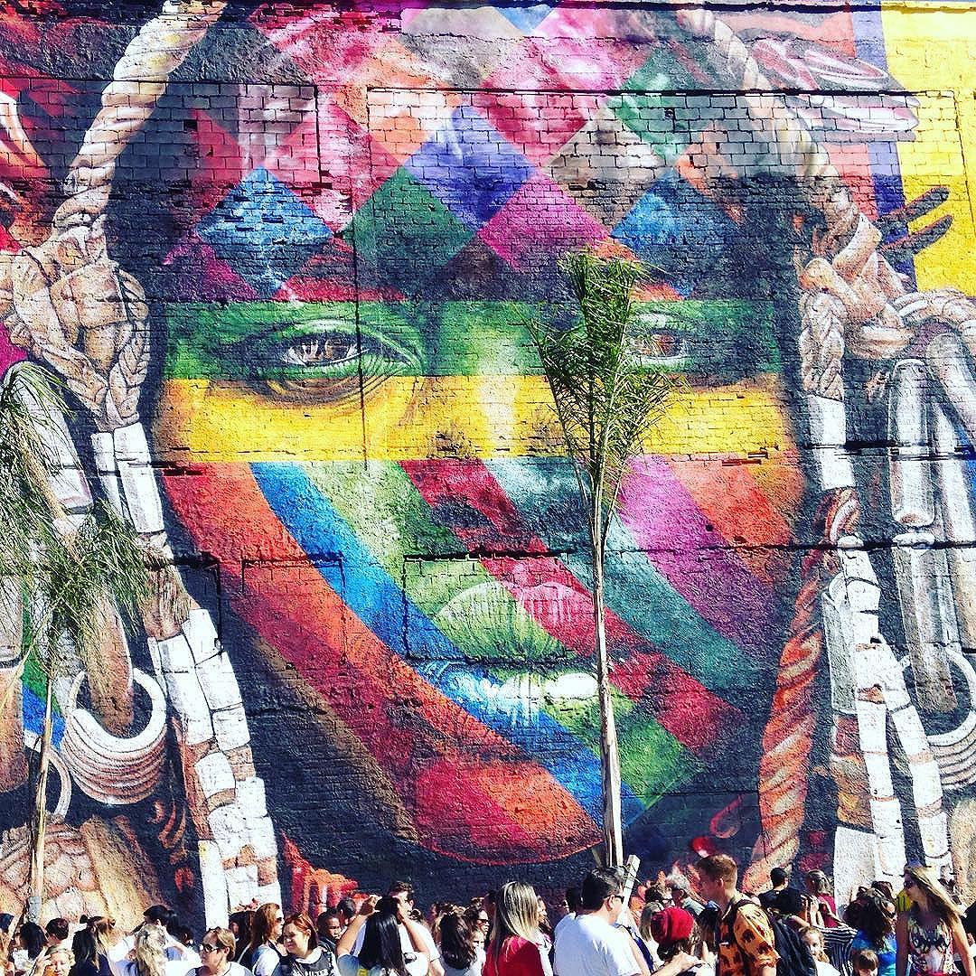 Tá tudo lindo! #streetartrio #streetart #kobra