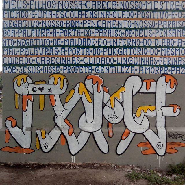 Ultimo da série. Gentileza gera gentileza. #romastreetart #streetartrio #streetart #graffiti #ilovebomber #bombers
