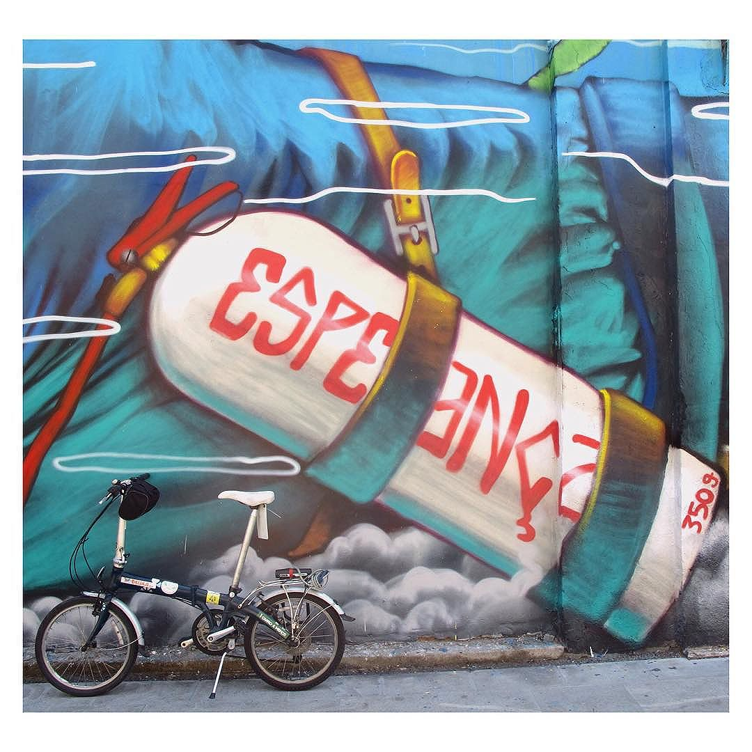 #hope #riodejaneiro #cycling #acme #streetart #streetartrio