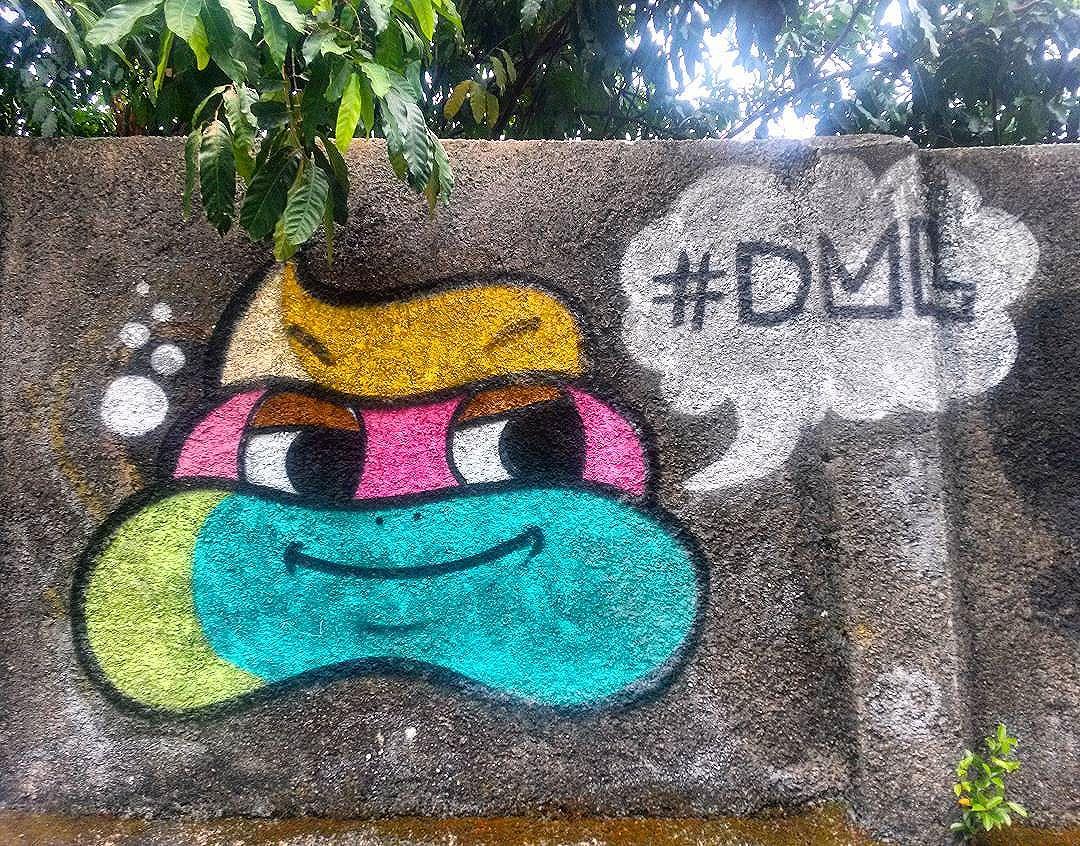 #StreetArtRio  #DML  Grafite na rua Ministro Artur Ribeiro, próximo ao entroncamento com a rua Engenheiro Alfredo Duarte, no Jardim Botânico.  Artista: @diogolamarca (DML)  Tirada em 11/01/2016  #g021_dml