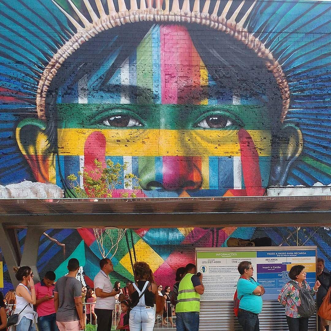Tapajó (Brasil). #StreetArtRio #Grafite #ArteUrbana #EduardoKobra #Kobra #NoFilter #Rio2016 #JogosParalímpicos2016 #Paralimpíadas2016 #Tapajó