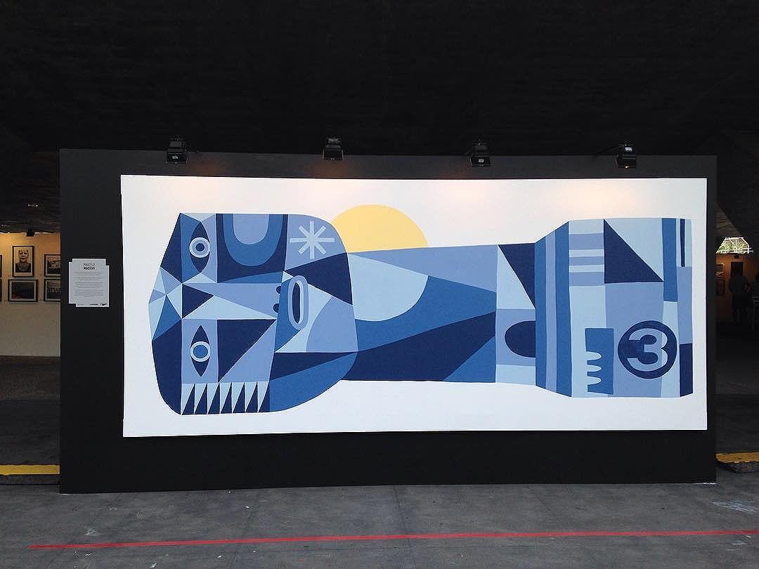 Arte de @marcelomacedo03 no #ArteCore foto de @ArteRuaRio. 15 e 16 de outubro de 2016 no #MAM | #ArteRuaRio #brarts . . * veja mais arte em #StreetArtRio #GraffRio #RJStreetArt #RJGraffiti #GraffitiRio #GraffitiCarioca #InstaGrafite