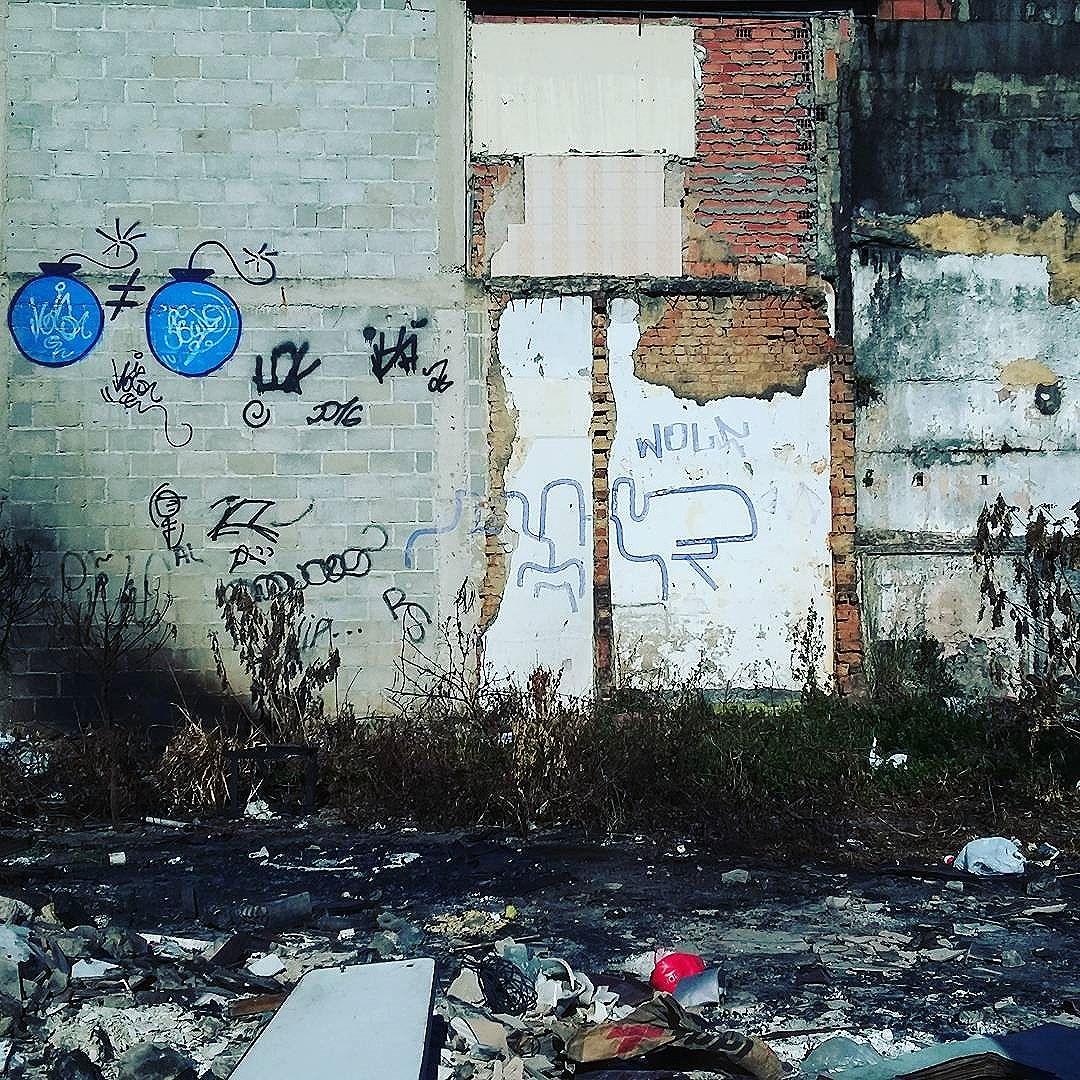Arte ou vandalismo ?? #calvinwolf  #wolf  #vandal  #streetart  #streetartrio  #graffiti  #instagraffiti