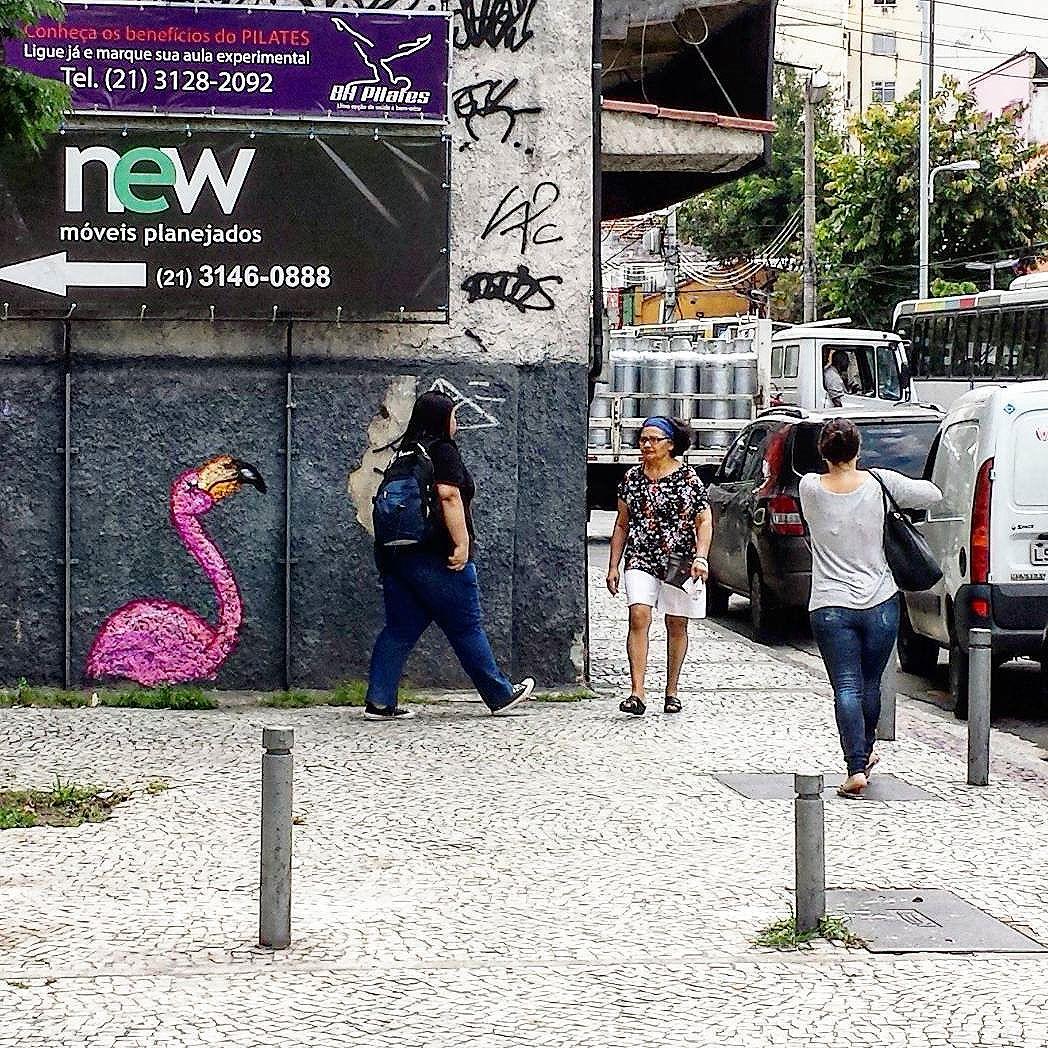 De boas aqui no chapisco. #trapacrew #streetartrio #streetartrj #flamingo #flamingos #flamenco #oamorerosa #tijuca #andarai #graffiti #grafite #graff #graffitiporn #street #colorful #wall #city #urban #spraydaily #граффити #spraycanart #sprayart #graffity #instagraff #streetart #rafagraffiti #rafa