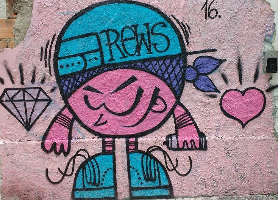 #graffiti #streetart #urbanart #streetartrio #grafitebrasil #rews
