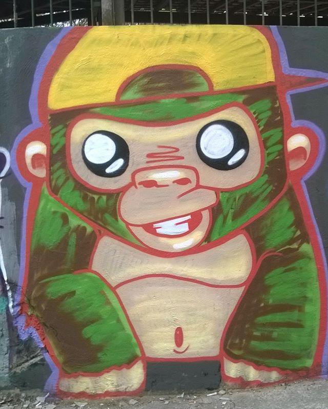 Olha nós ai #monkey #globalstreetart #seumurominhastelas #instagraffitisemfronteiras #streetartriodejaneiro #streetartrio #instagraffiti