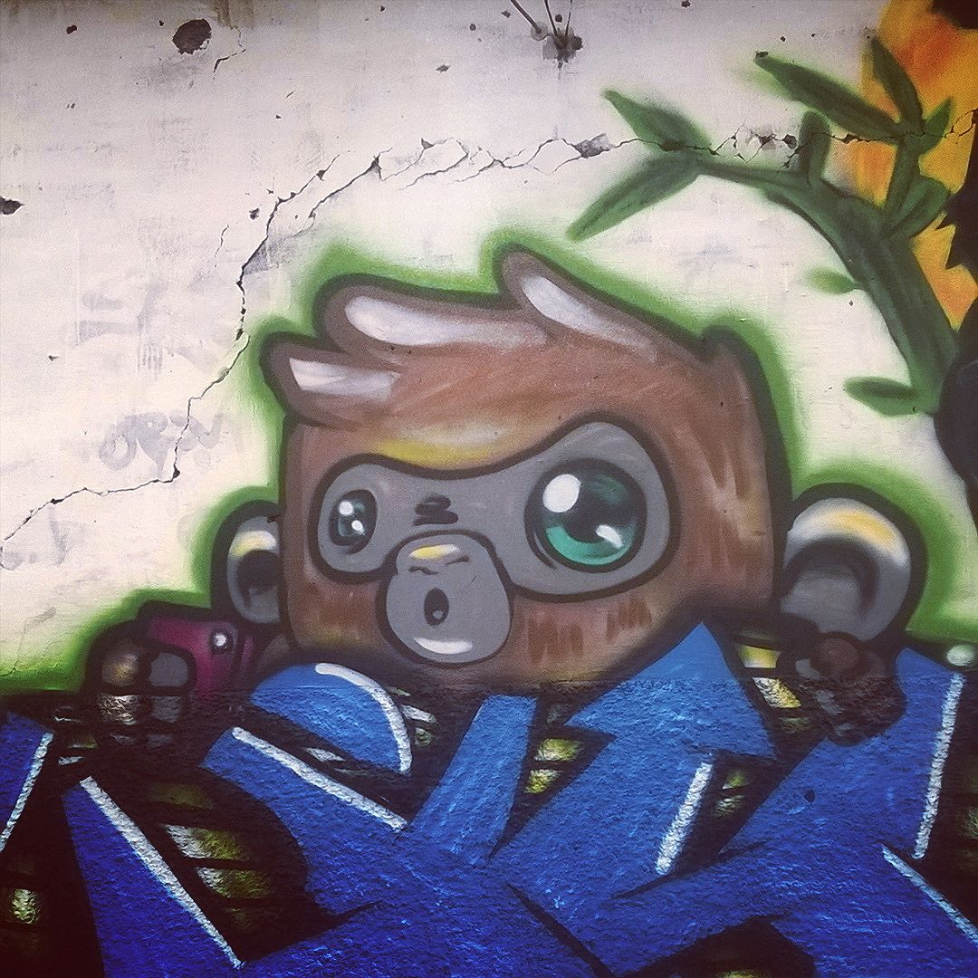 Olha nós ai #streetartrio #seumurominhastelas #streetart #instagraffiti #instagraffitisemfronteiras