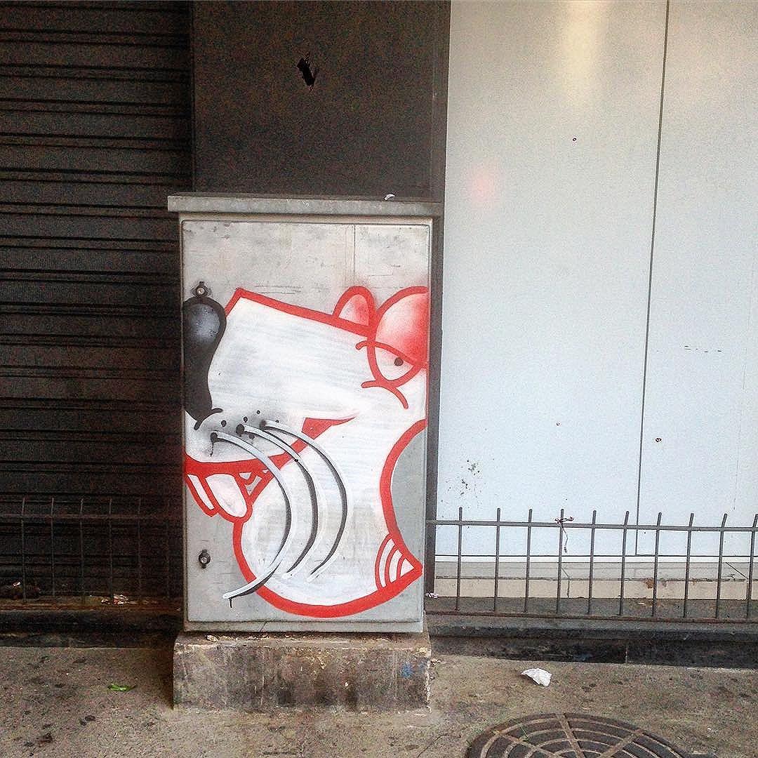 Art done by @70120.16 #graffiti #graffporn #streetart #streetartglobe #streetartrio #urbanart #spraydaily #muralsdaily #riodejaneiro #brazil