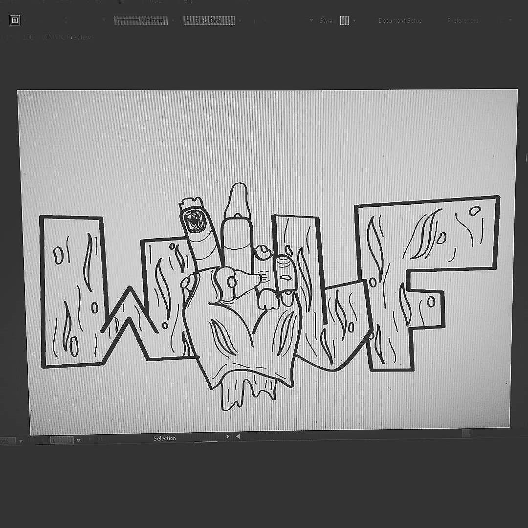 Em breve stikers  #calvinwolf  #wolf  #vandal  #streetart  #streetartrio  #graffiti  #instagraffiti  #pinturadigital  #ilustração