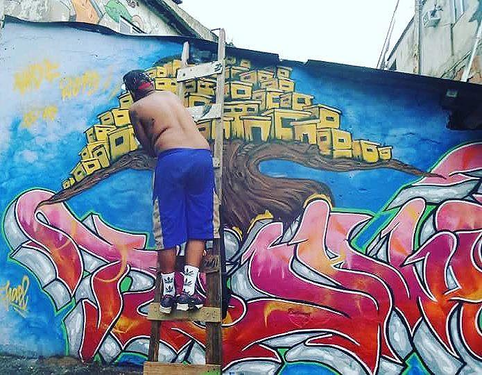 #faeltujaviu #maliciaurbana #maliciaurbanacrew #mof #meetingoffavela #graffiti #streetartrio #arteurbana #streetartist #sprayart #aerosolart #be_one_urbanart #graffiti_of_our_world #streetartglobal #duquedecaxias #vilaoperaria #streetphotography #streetphotographers #ofantasticomundodografite #wallporn