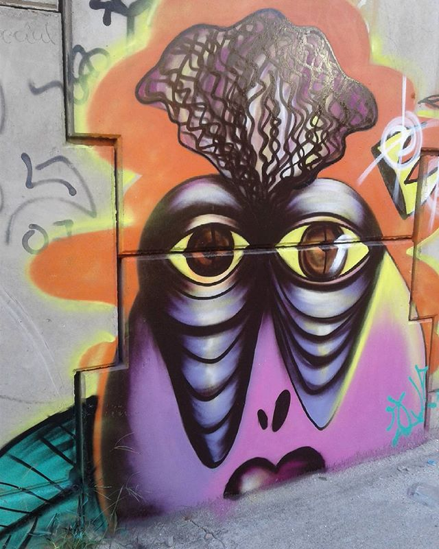 Graffiti do dia.  #StreetArtRio #StreetArt #Graffiti #ArteUrbana #Arte #JLoBorges