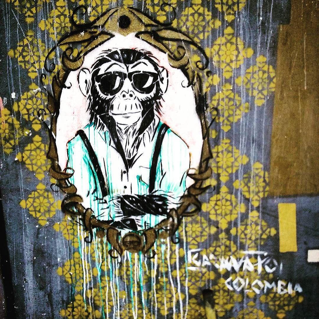 Na parede. Barão de Mesquita. Tijuca. #StreetArtRio