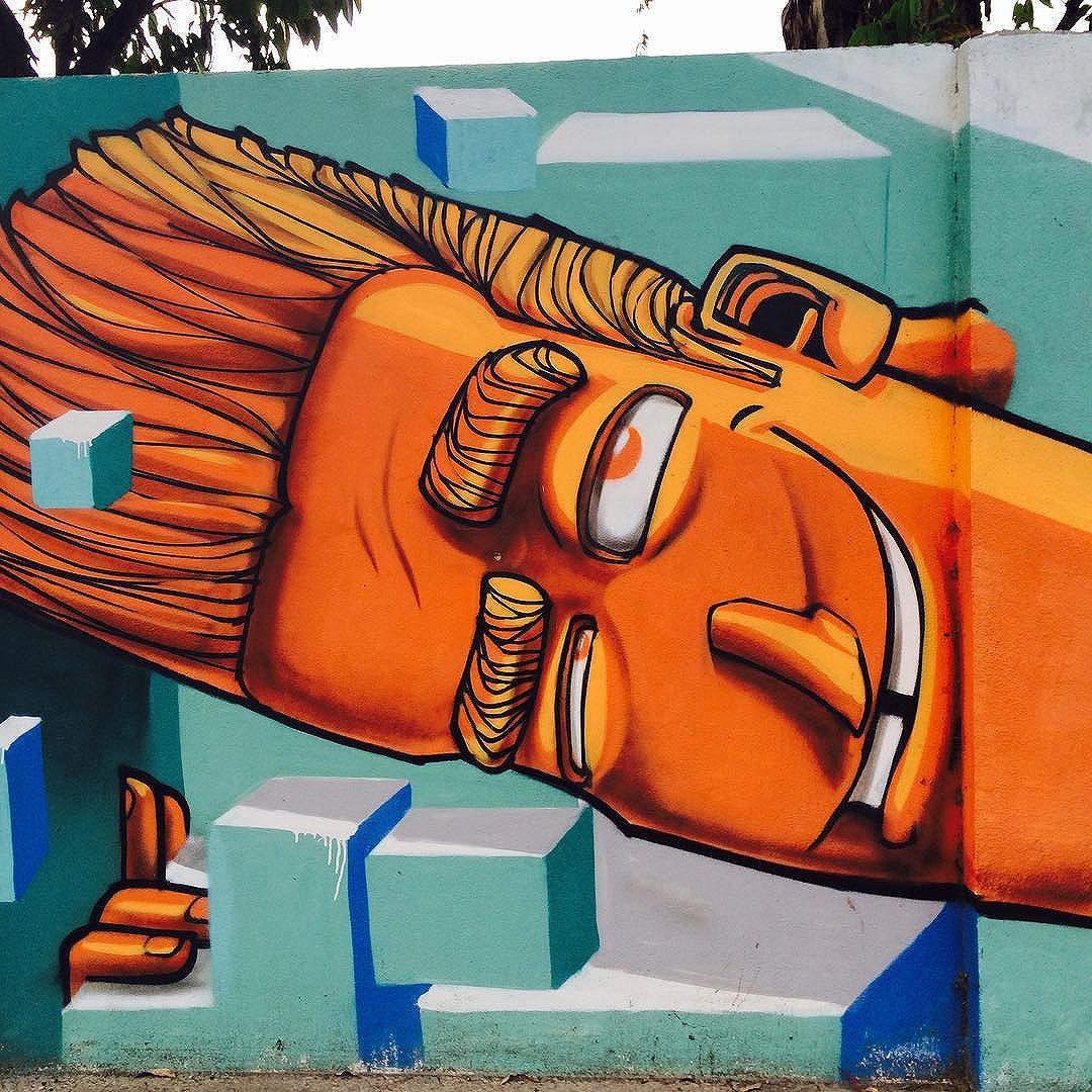 Squarehead. The artist's tool. #braffiti_maravilhosa #grafite #grafitebrasil #grafiterio #graffiti #graffitiart #graffitibrasil #graffiti_of_our_world #streetart #streetartrio #streetartistry #wallart #artedarua #jockeyclube #lagoa #leblon #rio #riodejaneiro #rj #rj  #errejota #cidademaravilhosa #conservacaorio #iphonese #iphoneography #iphoneographer #iphonephotography