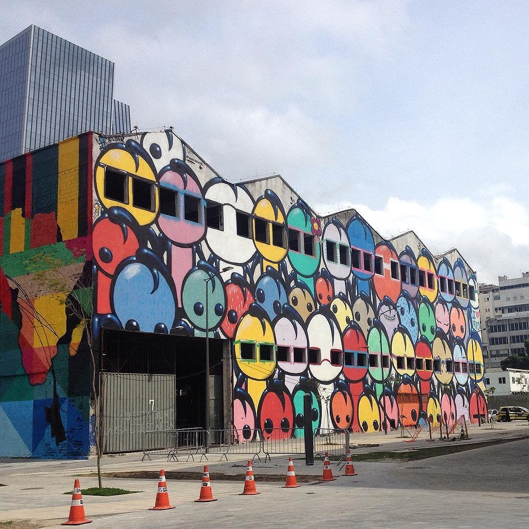 Street art at Cidade olímpica, Rio de Janeiro #cidadeolimpica #rio #streetartrio