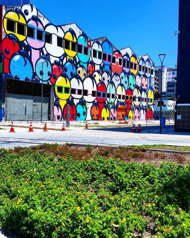 """""""União dos povos"""" #streetartrio"""