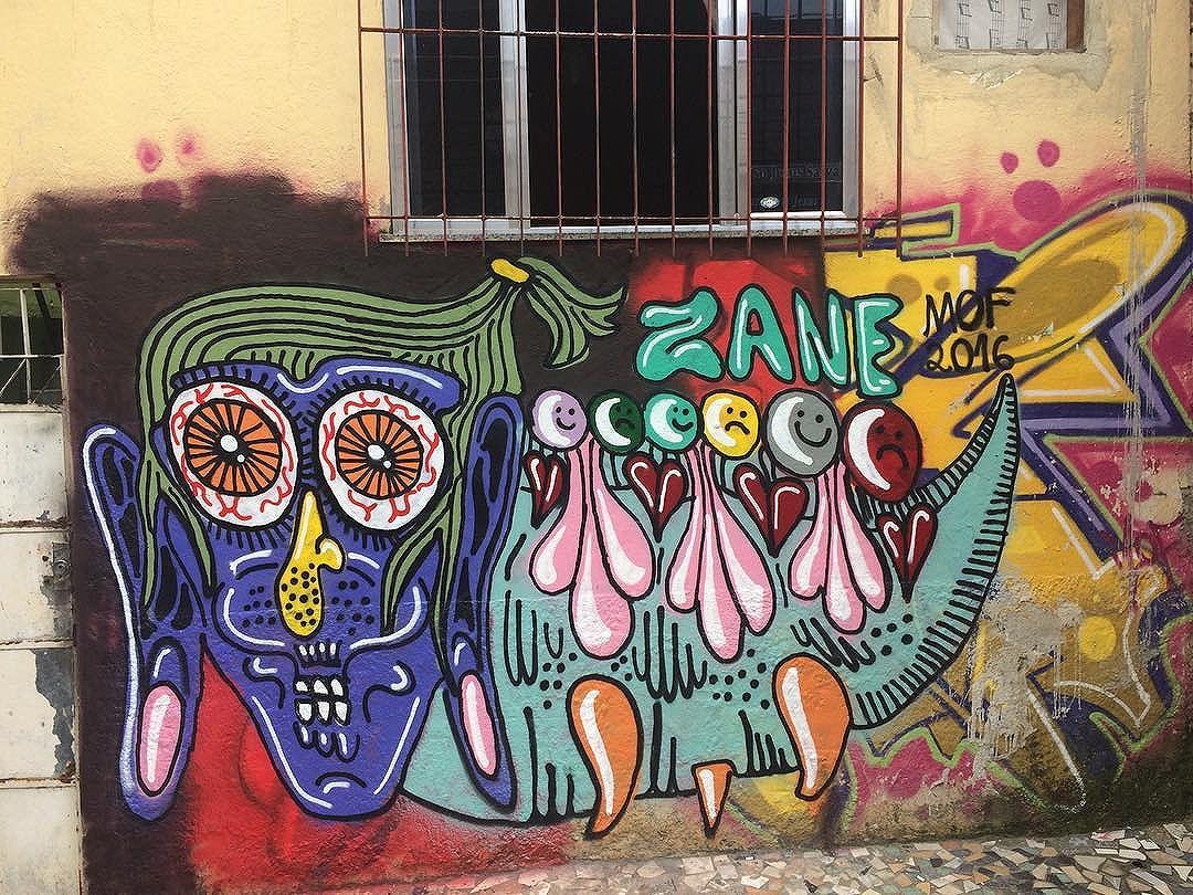 Ainda sobre o mof da semana passada  #mof #meetingoffavela #mystical #fineart #artwork #graffiti #graffitiart #urbanart #streetart #streetartrio #artederua #spray #spraypaint #paint #painting #zanelicious #uniqueart #juxtapoz #spraycan #mural #nicestreetart #sprayart