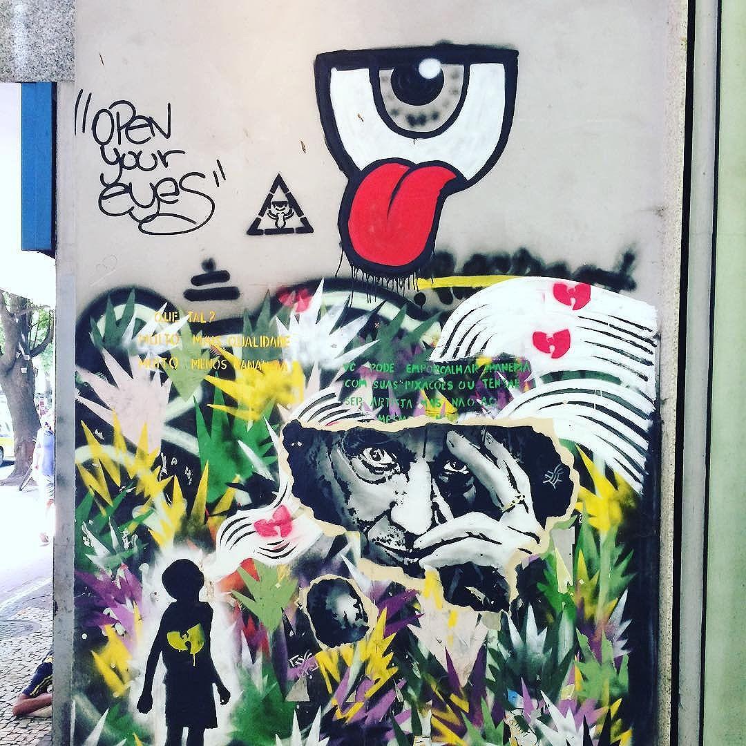 #artinrio #riograffiti #riodejaneiro #riourbanarts #riourbanartstour #a #streetphotography #streetart #style #streetartrio #streetartexperience #streetartporn #mangotreeipanema