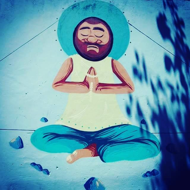 #caze #cazesawaia #yoga #meditacao #paz #sossego #streetphotography #streetphotographers #ofantasticomundodografite #wallporn #sprayart #aerosolart #be_one_urbanart #graffiti_of_our_world #streetartglobal #riodejaneiro #tijuca #streetartrio #streetartist #streetstyle #graffirio #streetculture #grafite