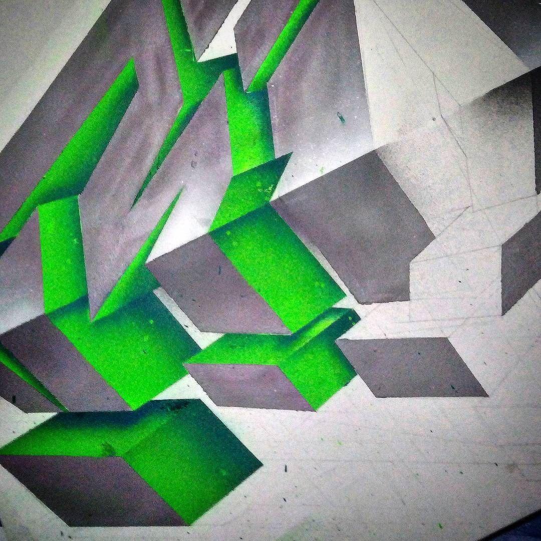 Érrê! #rinemenezes #3dgraffiti #streetartrio #ClasseD #artistasurbanoscrew
