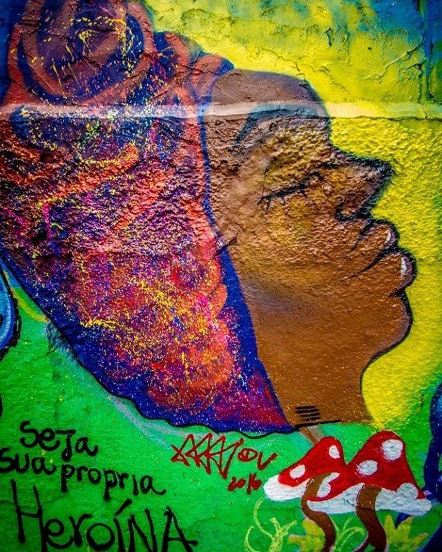 #Graffiti de @mai.viana no #MOF2016  #StreetArt #StreetArtRio #RedeNAMI #ArteUrbana