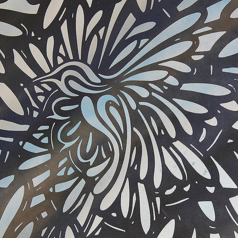 Graphic Colibri by StDsgn Meduim: Mixed Media Painting on Canvas Size: 45,5cm x 60,5cm Street Art Montpellier 2016 WebSite : stdsgn.fr  #StDsgn #StreetDesign #MixedMediaPainting #spray #acrylic #stencil #streetart  #streetartist #graffiti #graffitiart #paint #peinture #pintura #street #design #art #casabondels #montpellier #paris #london #newyork #rio #saopaulo #streetartmontpellier #streetartparis #streetartlondon #streetartnewyork #streetartrio #streetartsaopaulo