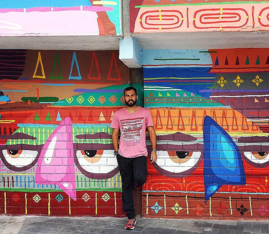 #Kajaman #art #graffitiart #streetart #streetartrio #graffismo #grafismo #passarindio #cores #colores #osindio #ademafia #urbanart #arteirbana #praçamaua #errejota #021 #cariocando #cariocagram #carioca #porainorio #tonorio #riodejaneiro #rj