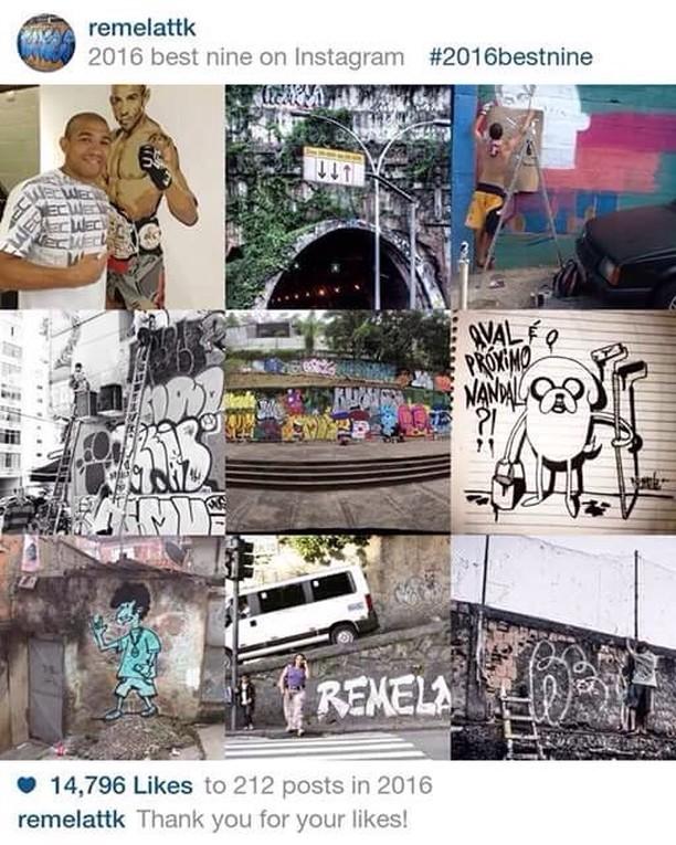 Likes de 2016 #favela #welovebombing #bombing #streetartrio #streetart #welovebombing #riodejaneiro #arteurbana #artederua #urbanart #vandal #rjvandal #vandalrj #flamengo #catete #ktt #ttk #remela #graffiti #graffitilife #street #fodasesuacrew #spray #spraypainting #bomb #draw #desenho #freehand
