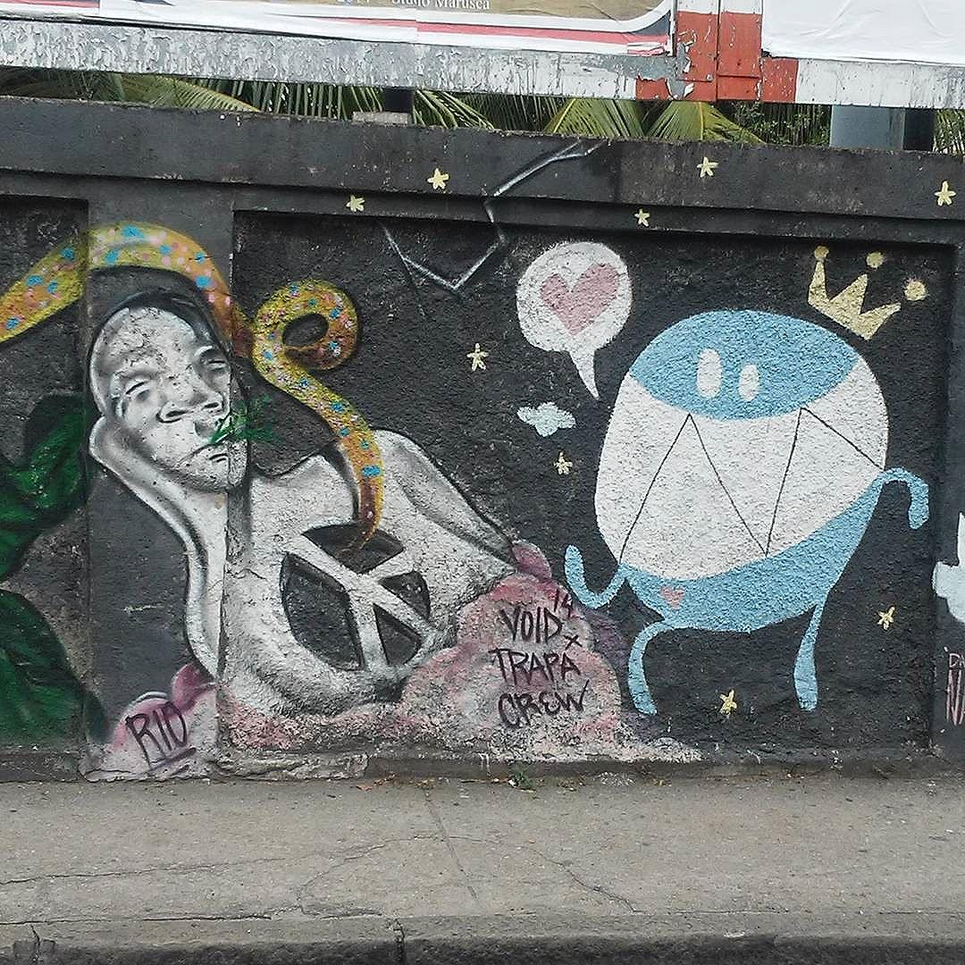 #nadigraffiti #trapacrew #streetart #streetartrio #streetartrj #urbanart #urbanwalls #wallart #arturbain #artderue #artecallejero #arteurbana #artederua #artenarua  #graffiti #graffitiart #graffitiporn #instagraffiti #grafite #grafiterj #instagrafite #grajau #grajaurj #instagrajau