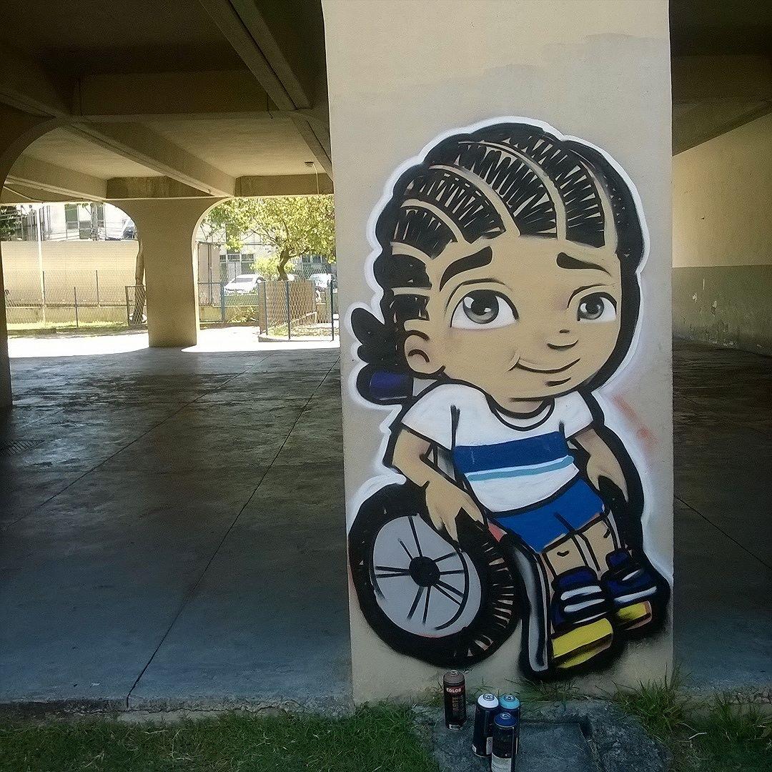 Olha nós ai #streetartriodejaneiro #grafitebrasil #grafitebrasilsa #artistsofinstagram #globalstreetart #seumurominhastelas #streetartrio #streetart #instagraffitisemfronteiras